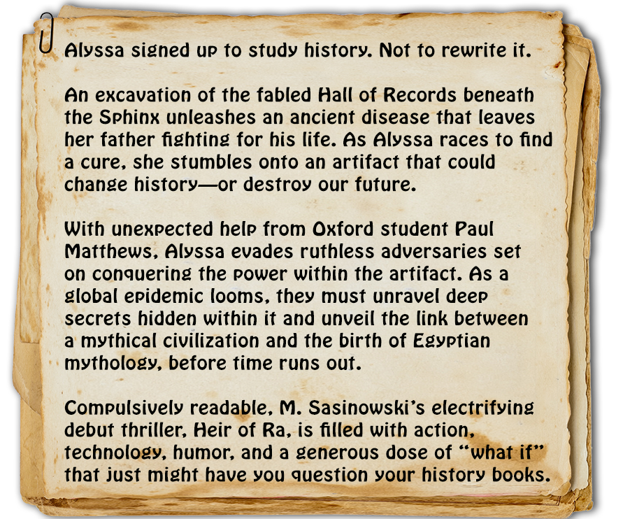 Alyssa signed up to study history. Not to rewrite it.